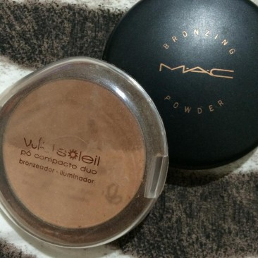 Make: Meus bronzers!