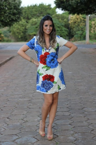 Meu look – Floral Farm!