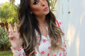Meu Look – Red kisses!