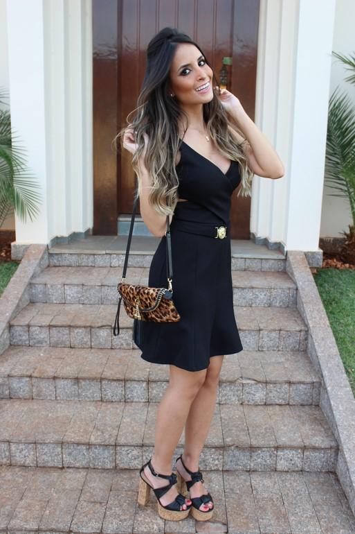 Meu Look – Black Dress!